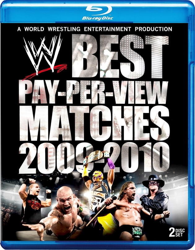 WWE Best PPV Matches 2009-2010 Blu-ray - Large Cover