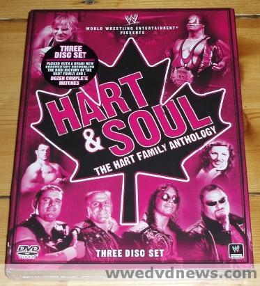 WWE 'Hart & Soul: The Hart Family Anthology' DVD