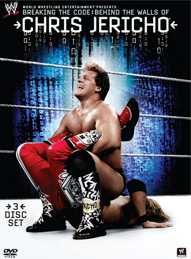WWE 'Chris Jericho: Breaking the Code' DVD - High Quality Cover Artwork