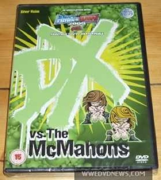 WWE 'DX vs The McMahons' DVD - Video Game Exclusive