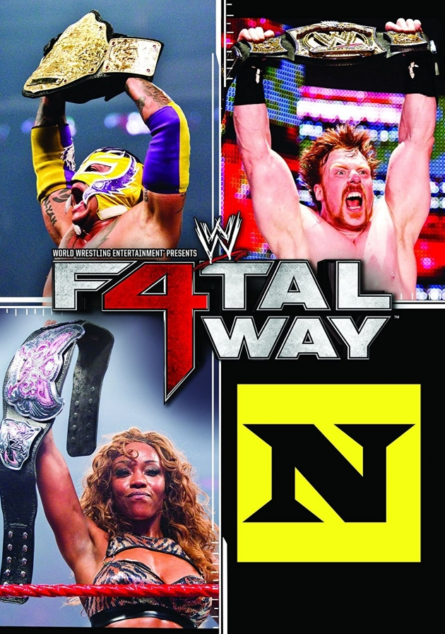 WWE Fatal 4-Way 2010 DVD - Worst Cover Artwork Ever?!