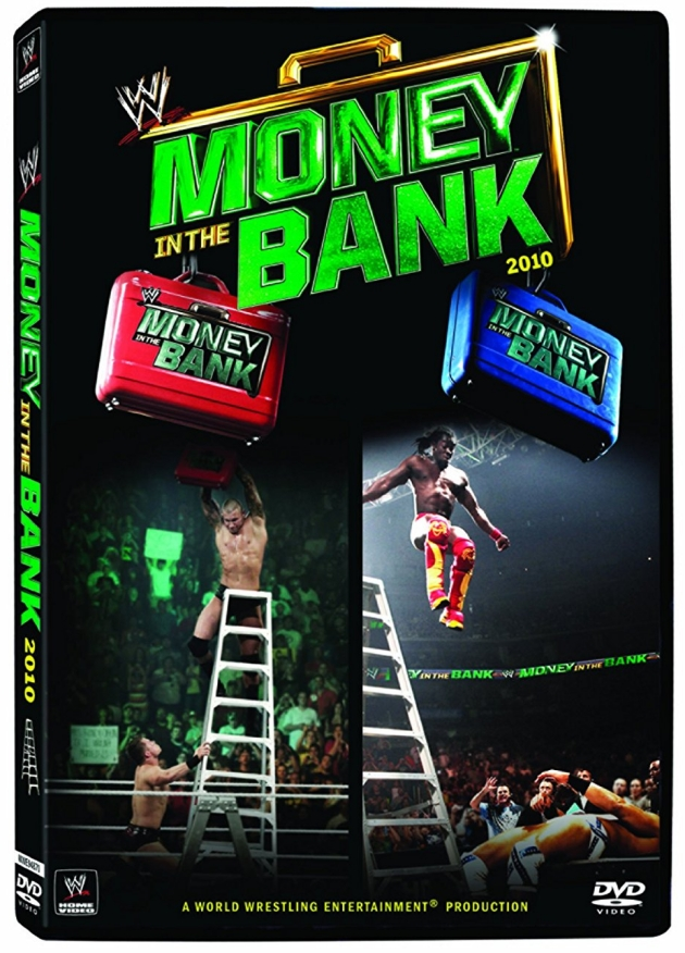 WWE Money in the Bank 2010 DVD - Official Cover Artwork