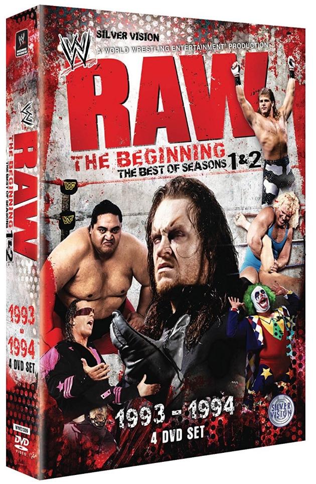 WWE 'RAW: The Beginning - Seasons 1 & 2' DVD Box Set