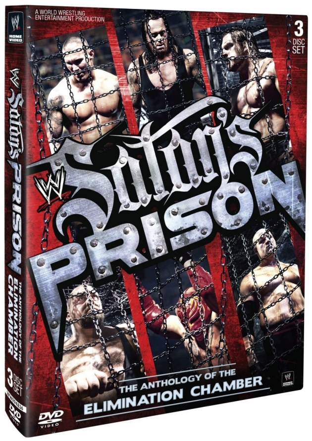 WWE 'Satan's Prison: The Elimination Chamber Anthology' DVD Box Set></p> <div class=