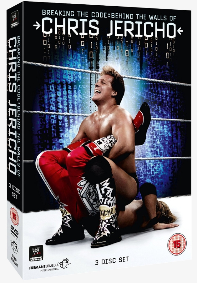 WWE Chris Jericho: Breaking the Code DVD - Official Box Art