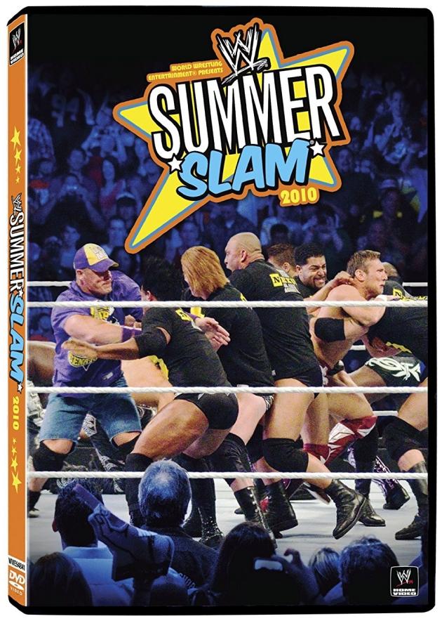 WWE SummerSlam 2010 DVD - Worst Cover Artwork Ever?!