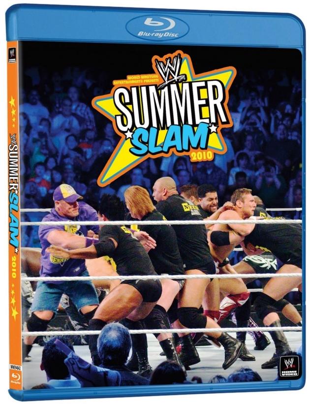 WWE SummerSlam 2010 Blu-ray - Worst Cover Artwork Ever?!