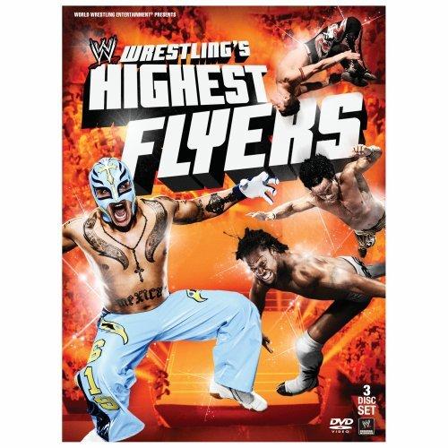 WWE Wrestling's Highest Flyers DVD - Front Cover Artwork
