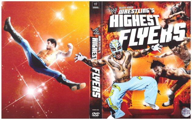 WWE Wrestling's Highest Flyers DVD - Full Cover Artwork