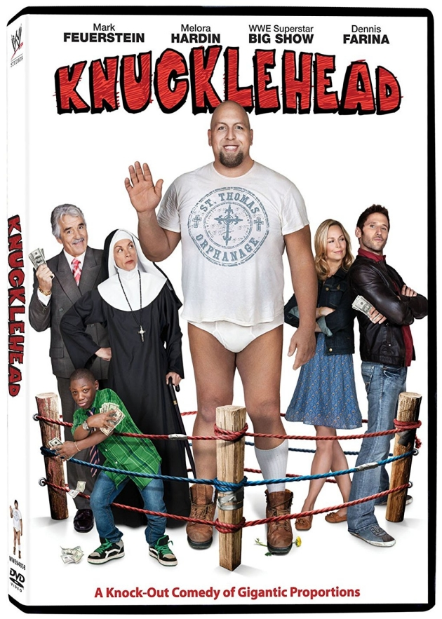 WWE Knucklehead Movie DVD Cover Artwork