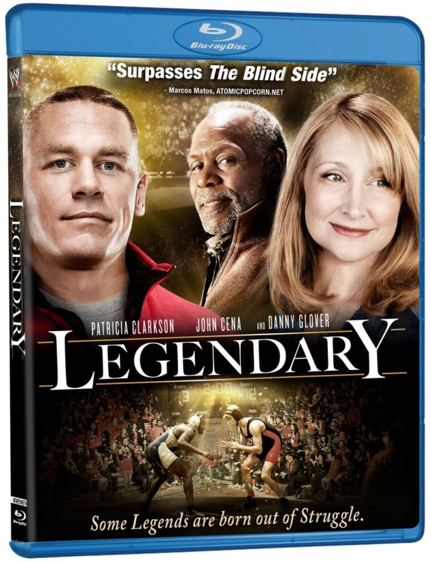 WWE Legendary (John Cena Movie) DVD & Blu-ray Cover Artwork