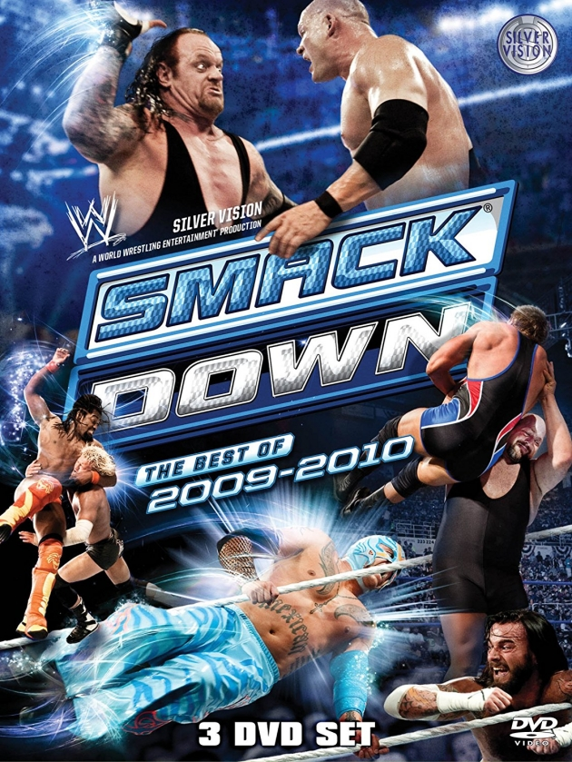 WWE Best of SmackDown 2009-2010 DVD - Official Cover Artwork