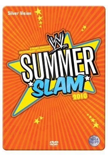 WWE SummerSlam 2010 Steelbook DVD - UK Exclusive