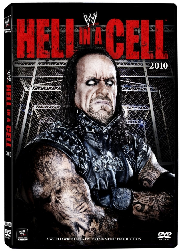 WWE Hell in a Cell 2010 DVD Cover, Featuring The Undertaker!