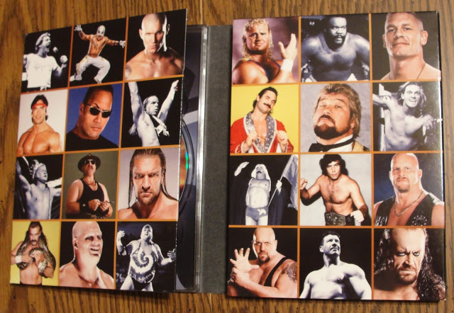 WWE 'Top 50 Superstars of All Time' DVD - Photos, Inside Artwork