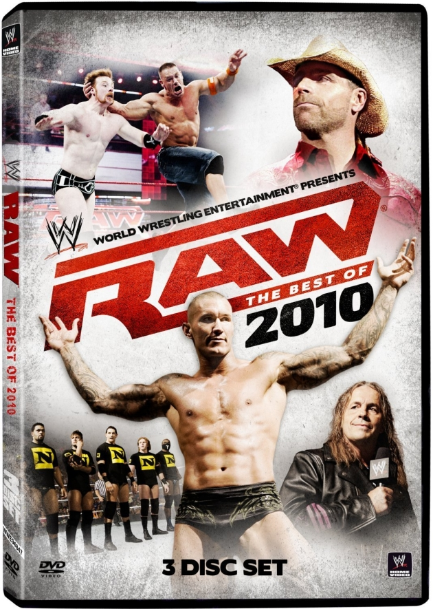 WWE Raw Best of 2010 DVD Cover