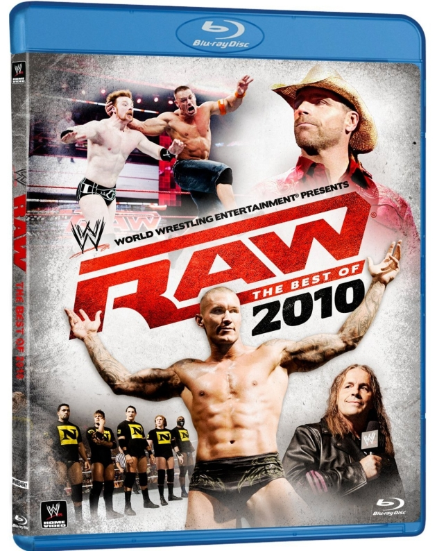 WWE Raw Best of 2010 Blu-ray cover
