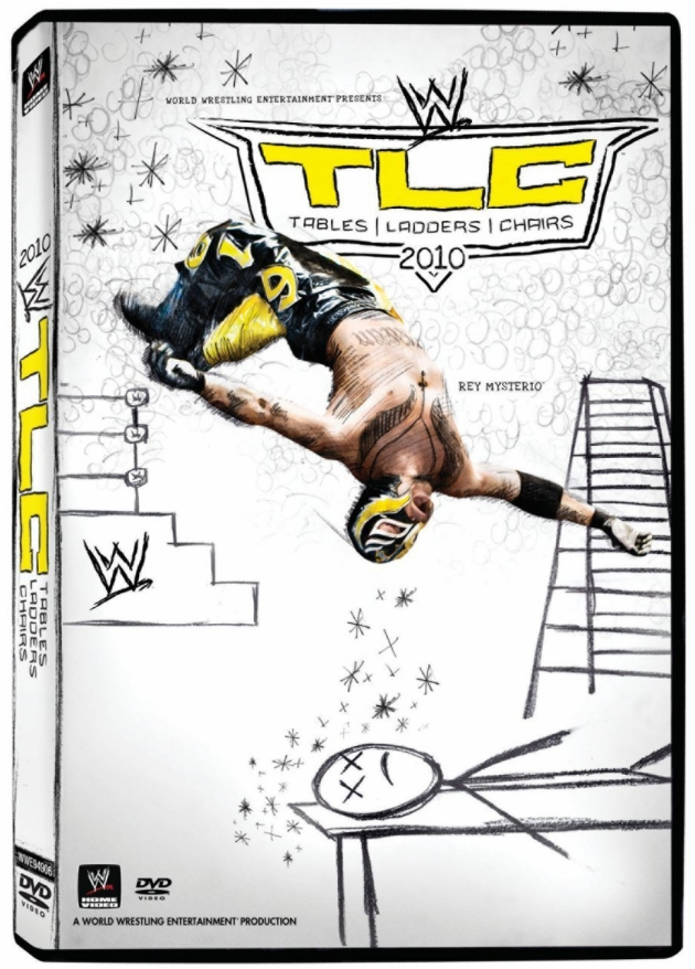 WWE Tables Ladders Chairs 2010 DVD Cover
