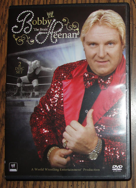 WWE Bobby 'The Brain' Heenan DVD - Photos, Front Cover