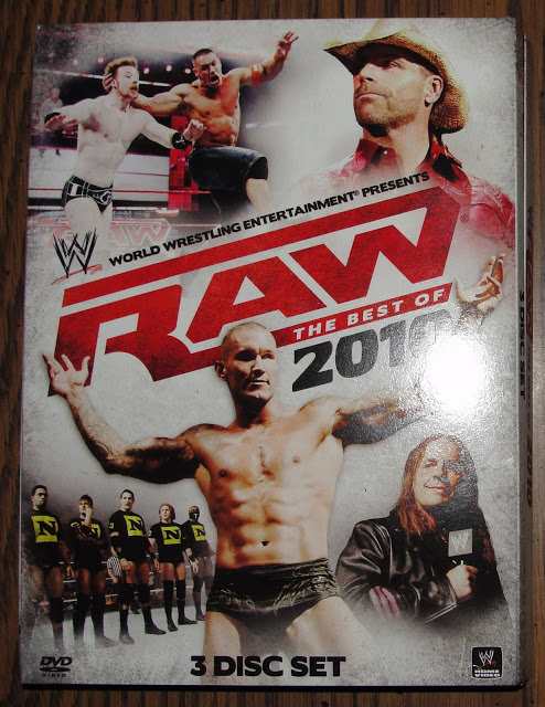 WWE Raw Best of 2010 DVD - Photos, Front