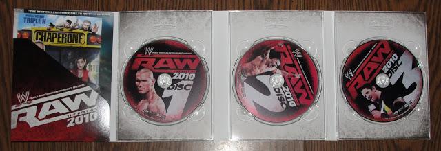 WWE Raw Best of 2010 DVD - Photos, Disc Artwork
