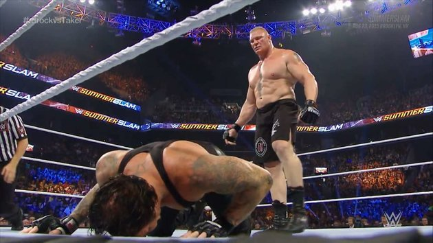 Lesnar vs. Taker - Summerslam