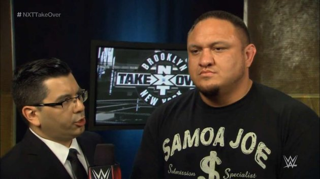 Samoa Joe - NXT Takeover