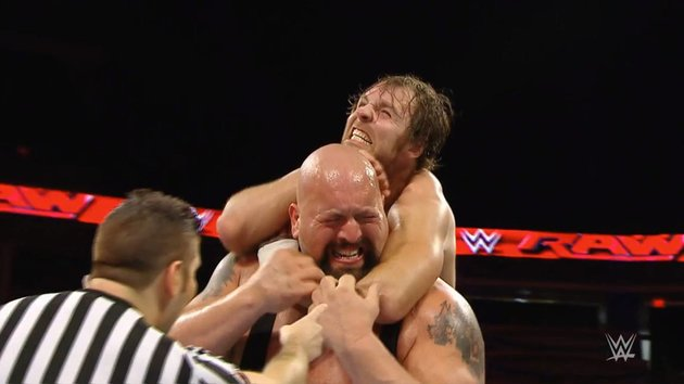 Dean Ambrose vs. Big Show - RAW