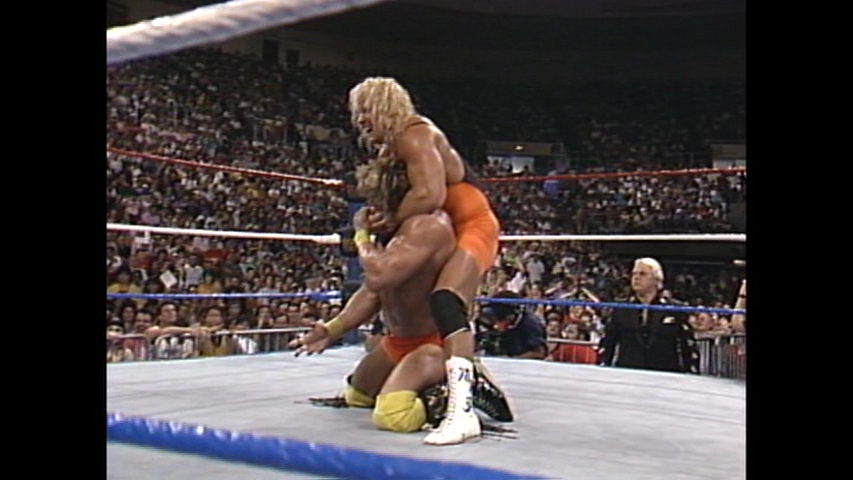 WWE 'UNRELEASED 1986-1995' DVD - Mr. Perfect vs Ultimate Warrior