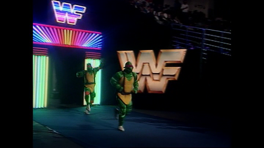 WWE 'UNRELEASED 1986-1995' DVD - It's The Toxic Turtles!