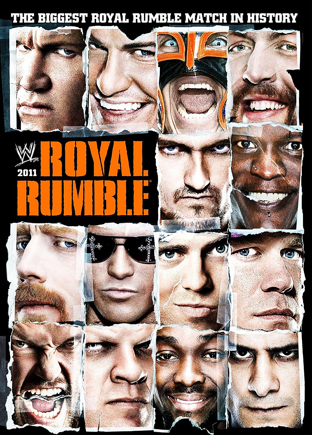 WWE Royal Rumble 2011 DVD Cover