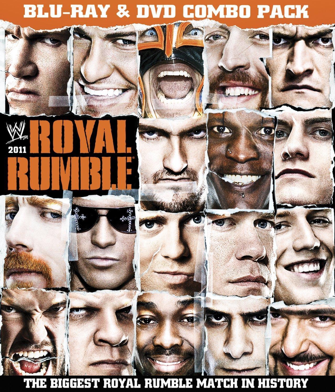 WWE Royal Rumble 2011 Blu-ray DVD Combo