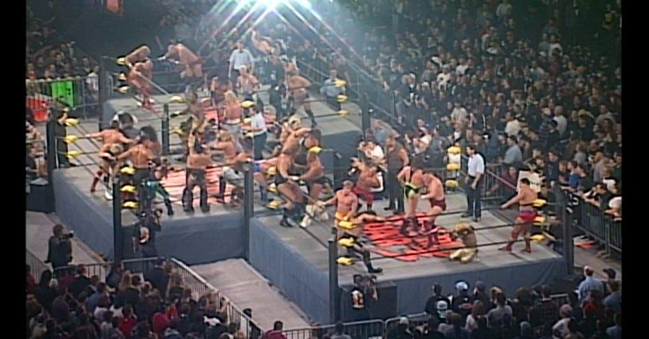 Throwback Thursday: WCW World War 3 '97, As Seen on WWE Network | Wrestling DVD Network