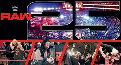 WWE 'RAW 25' Logo & Best Moments