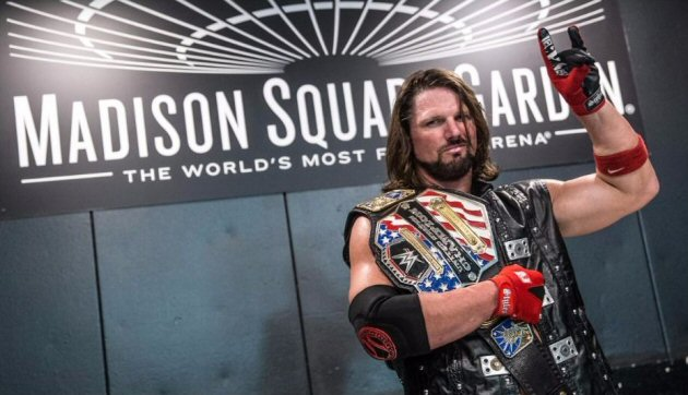 WWE - AJ Styles Wins US Title in 'Unseen' Madison Square Garden Match