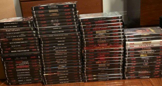 Big Collection of TNA Wrestling DVDs