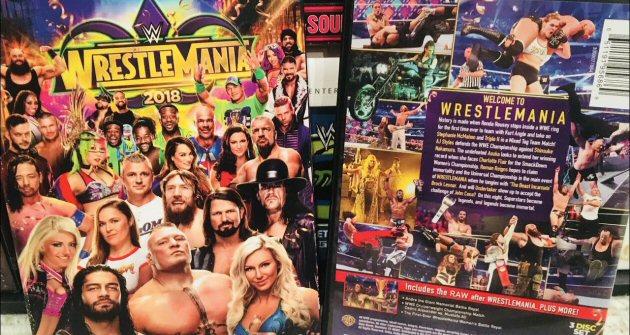 WWE WrestleMania 34 DVD - With Hall of Fame Digital Bonus