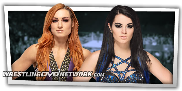 WWE Iconic Matches Returns - Becky Lynch & Paige