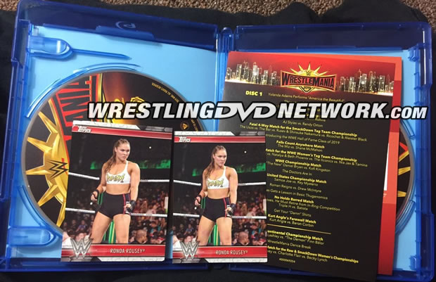 WWE WrestleMania 35 Blu-ray - Photos, Package Contents