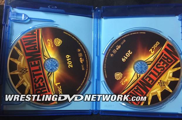 WWE WrestleMania 35 Blu-ray - Photos, Disc Artwork