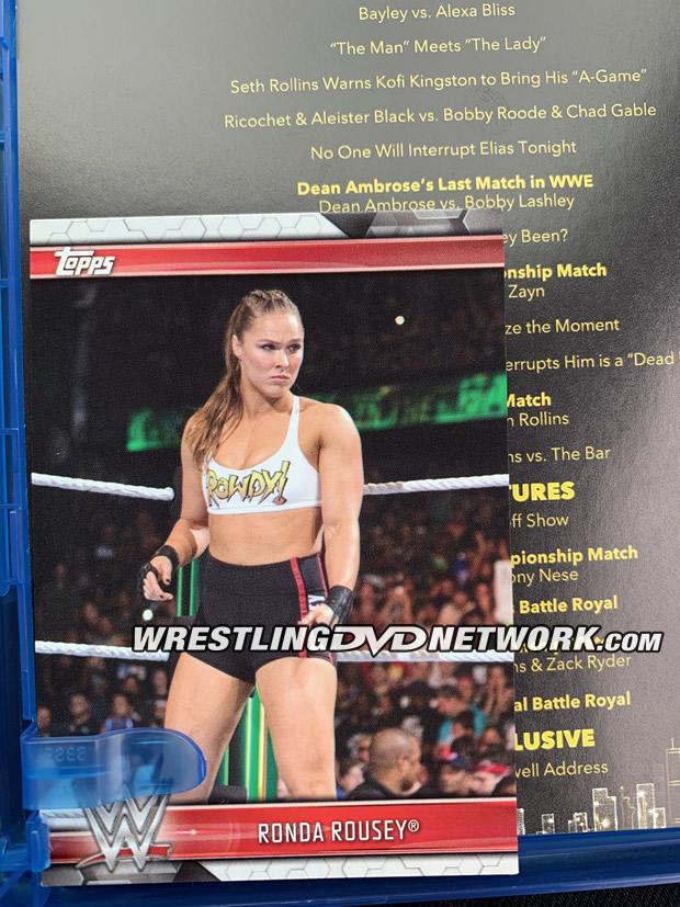 WWE WrestleMania 35 DVD Blu-Ray
